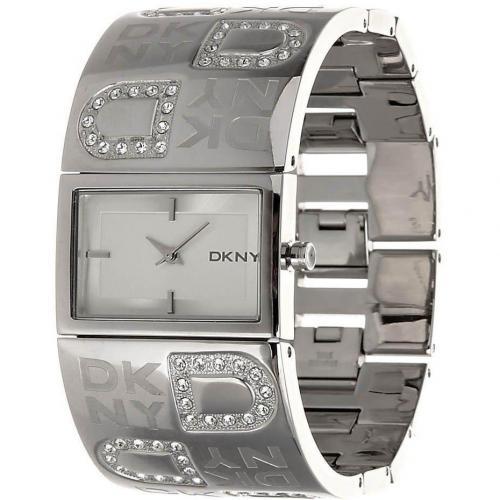Uhr silver von DKNY