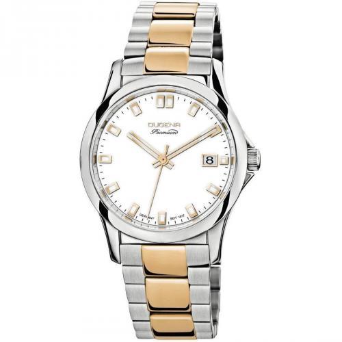 Premium Tonda Uhr gold/silber von Dugena Premium