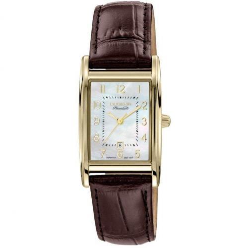 Quadra Artdeco Uhr braun von Dugena Premium