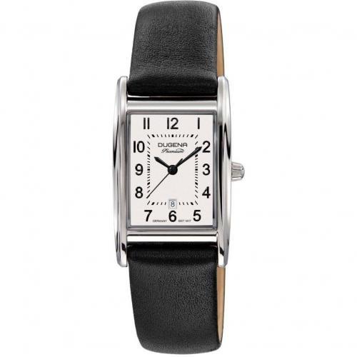Quadra Artdeco Uhr weiss von Dugena Premium