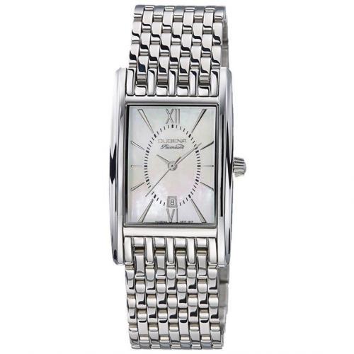 Quadra Attica Uhr silber von Dugena Premium
