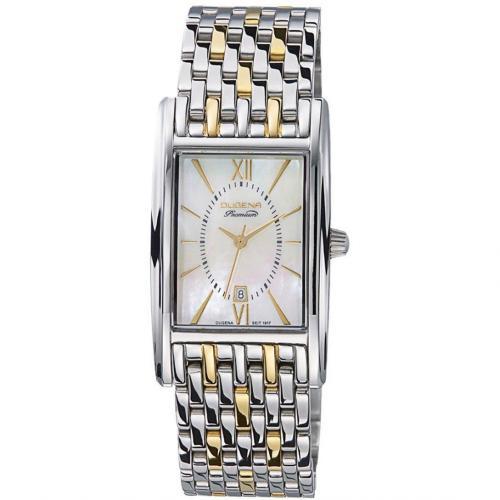 Uhr silber von Dugena Premium