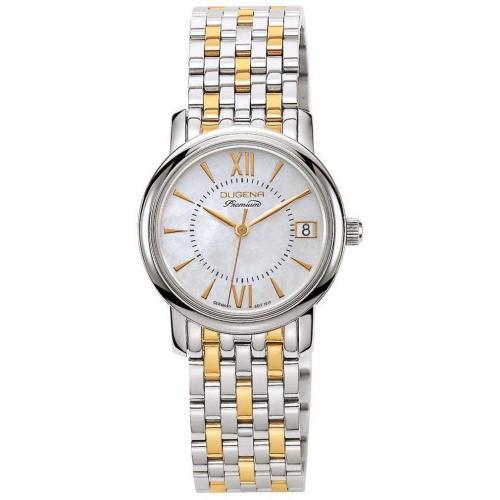 Uhr silbergold von Dugena Premium
