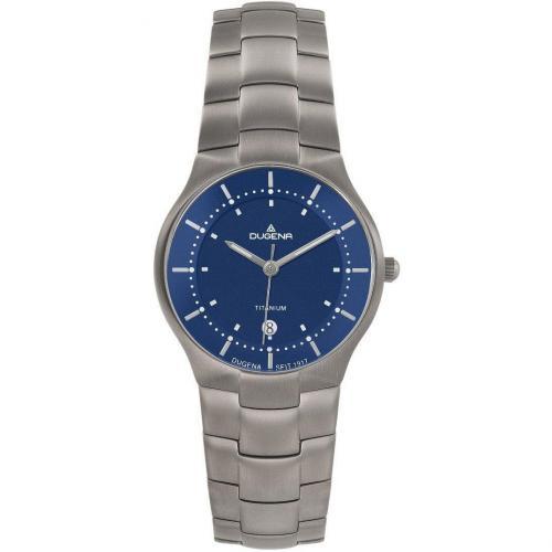 Uhr blau von Dugena