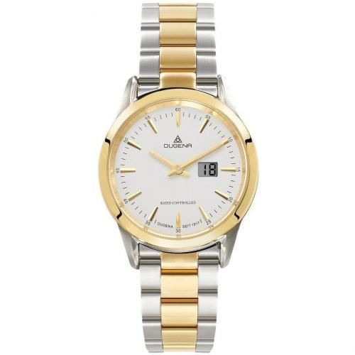 Uhr gold/silber von Dugena