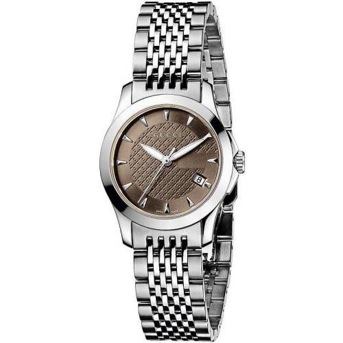 Damenuhr Timeless YA126503 von Gucci