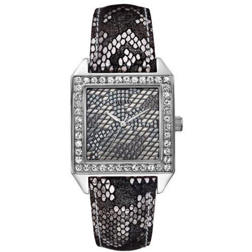 Savage Uhr schwarz/silber von Guess