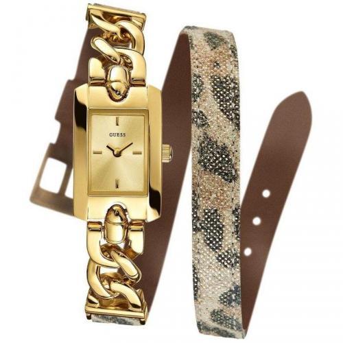Slinky Uhr gold/ braun von Guess