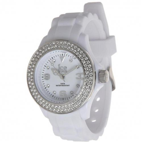 ice watch stone uhr white silver miss watch. Black Bedroom Furniture Sets. Home Design Ideas