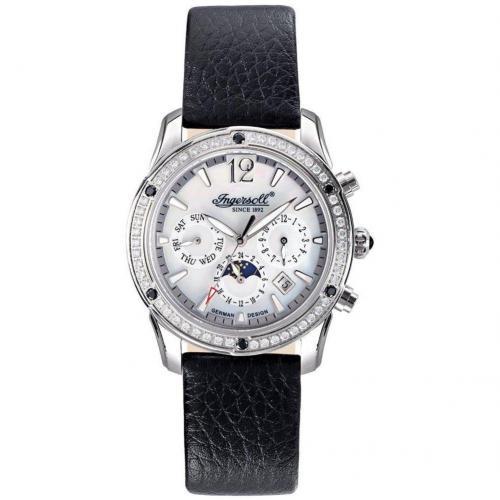 Des Moines Uhr schwarz von Ingersoll