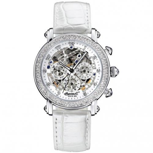 Dream Uhr weiß/silber von Ingersoll