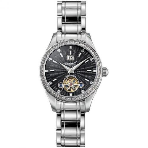 Uhr silberschwarz von Ingersoll