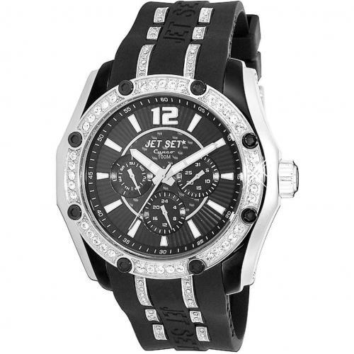 Cuneo Uhr schwarz von Jet Set