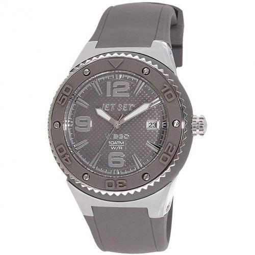 Uhr grau von Jet Set