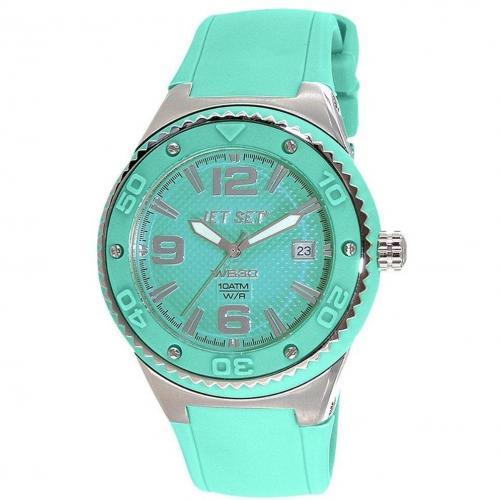 Uhr grün 10bar wasserdicht von Jet Set