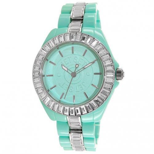Uhr grün von Jet Set
