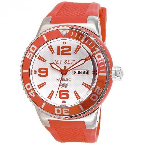 Uhr rot von Jet Set