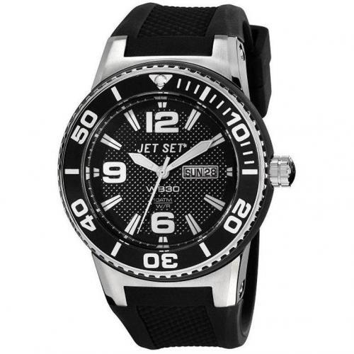 Uhr schwarz von Jet Set