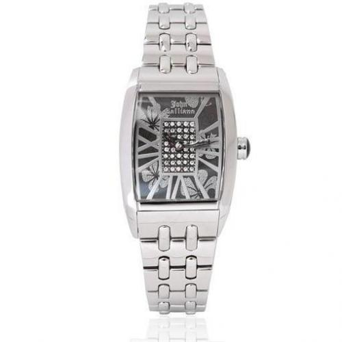 Ronda Quartz Stainless Watch von John Galliano