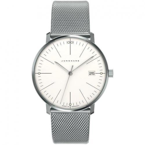 Uhr silber/weiß von Junghans