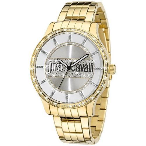 Huge Jc Uhr gold von Just Cavalli