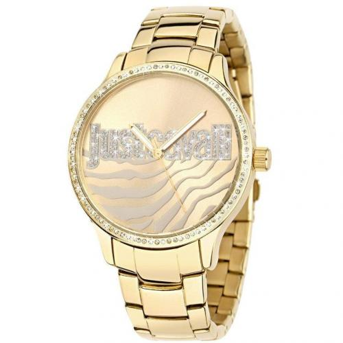 Huge Uhr gold von Just Cavalli