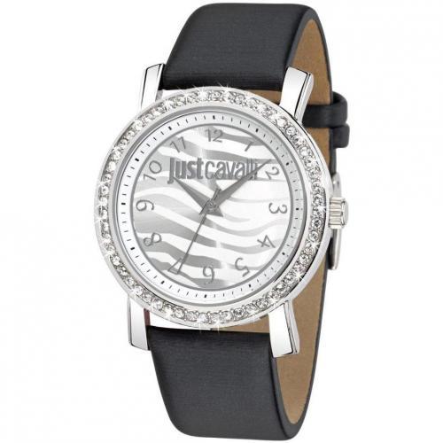 Moon Uhr silber von Just Cavalli