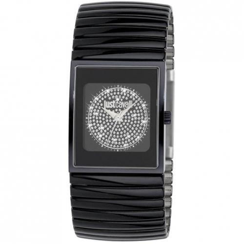 Uhr schwarz von Just Cavalli
