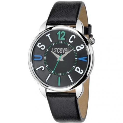 Uhr schwarz mit Quarzwerk von Just Cavalli
