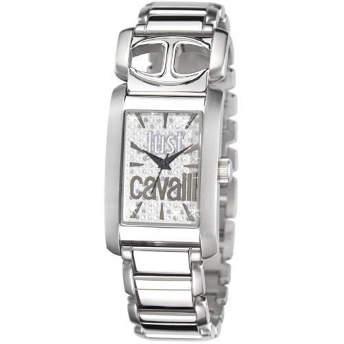 Uhr silber von Just Cavalli