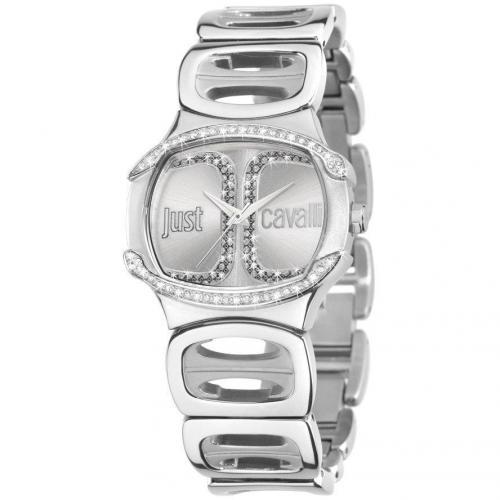 Uhr silber mit Quarzwerk von Just Cavalli