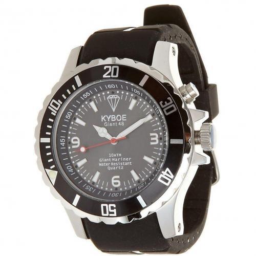 Black Series Uhr black von KYBOE