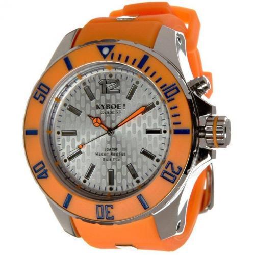 Fluo Series Giant 55 Uhr orange von KYBOE