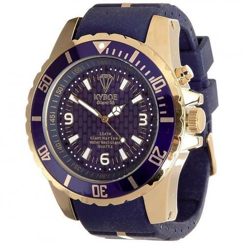 Gold Series Giant 55 Uhr dark blue von KYBOE