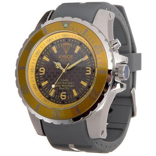 Marine Series Giant 55 Uhr grey von KYBOE