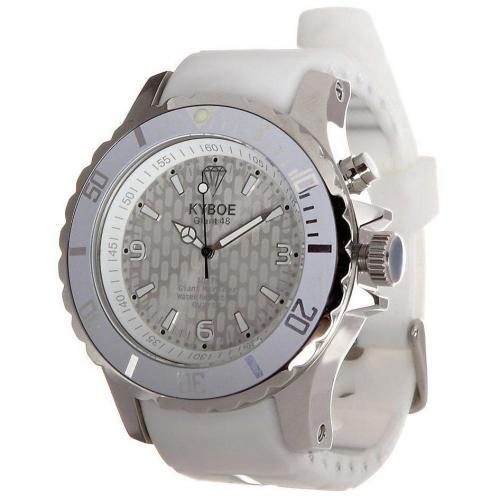 Silver Series Giant 48 Uhr white von KYBOE