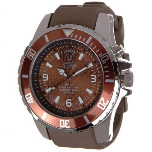 Silver Series Giant 55 Uhr chocolate von KYBOE