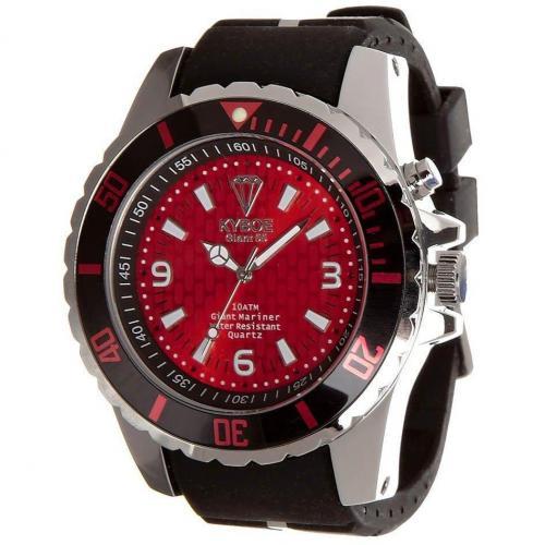 Silver Series Giant 55 Uhr red/black von KYBOE