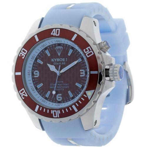 Uhr brown/ight blue von KYBOE