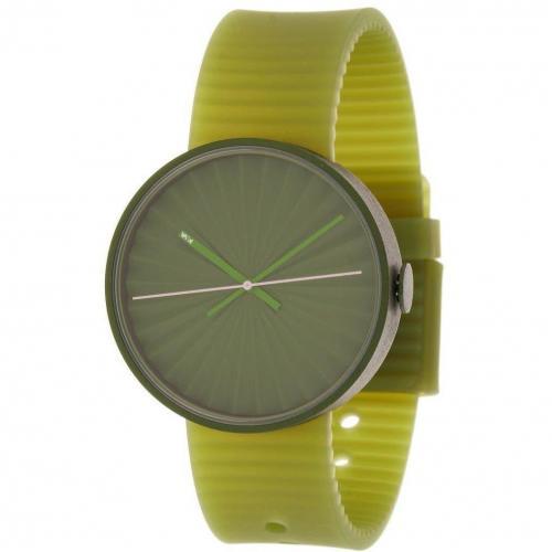 Plicate Uhr green von Nava