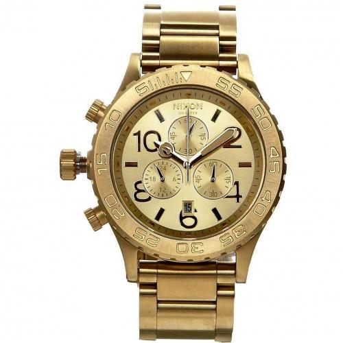 4220 Chrono Uhr gold von Nixon