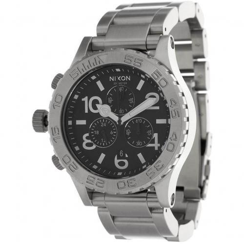 4220 Chrono Uhr silver von Nixon
