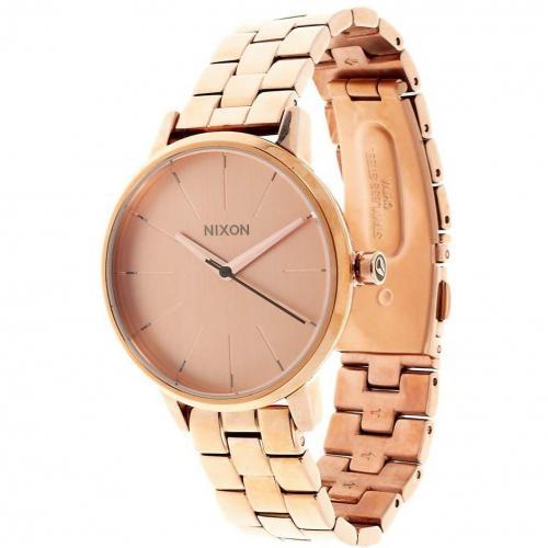 Kensington Uhr all rose gold von Nixon