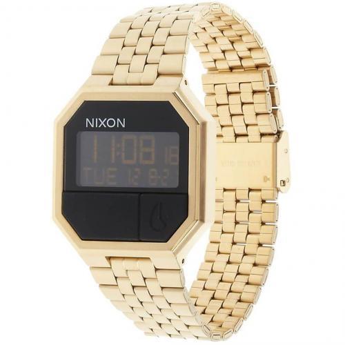 The Rerun Digitaluhr all gold von Nixon