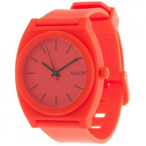 Time Teller P Uhr neon orange von Nixon