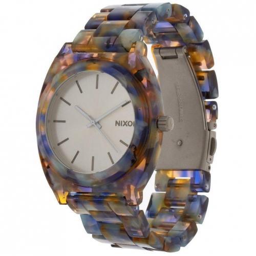 Timeteller Acetate Uhr watercolor acetate von Nixon