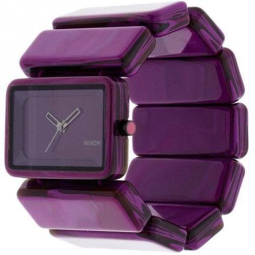 Uhr purple marble von Nixon