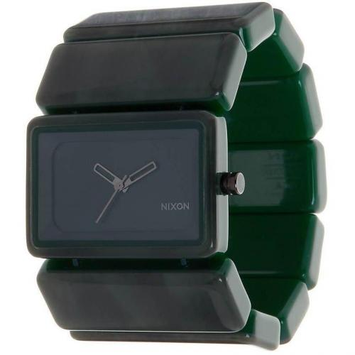 nixon vega uhr green miss watch. Black Bedroom Furniture Sets. Home Design Ideas