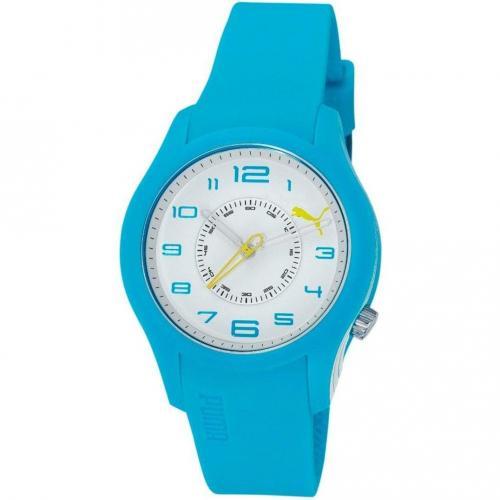 Boost Uhr weiß/blau von Puma