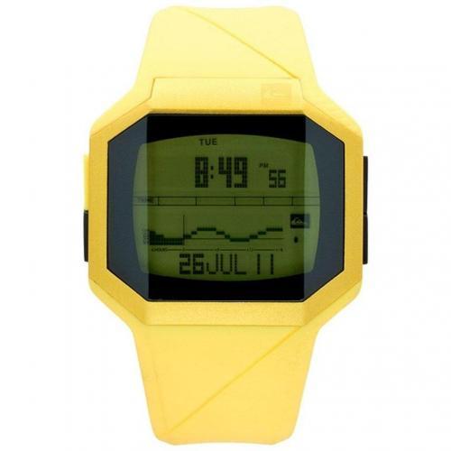 Addictiv Digitaluhr gelb von Quiksilver